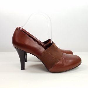 Alex Marie Brown Leather Pumps Size 10M HOST PICK